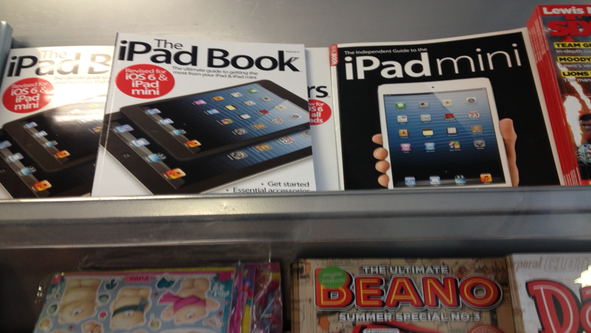 ipad guide on newsstand